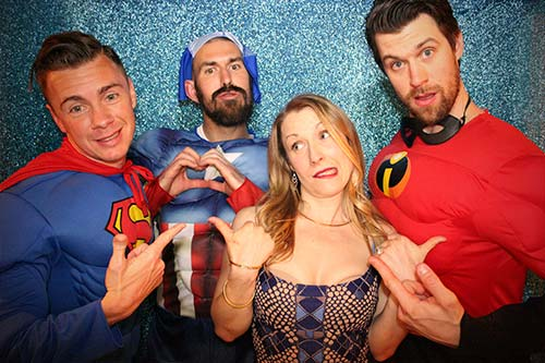 parties and events mojo photo booth rentals
